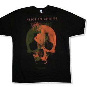 Alice in chains hollow shirt.